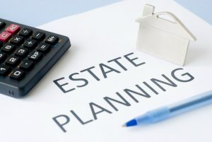 Estate planning with calculator