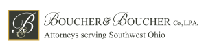Boucher website header